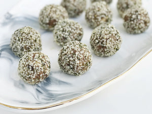 Almond Butter Espresso Energy Balls