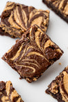 Ultra Fudgy PB Swirl Brownies