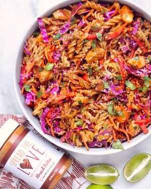 Pad Thai With Sweet Almond Butter Sauce