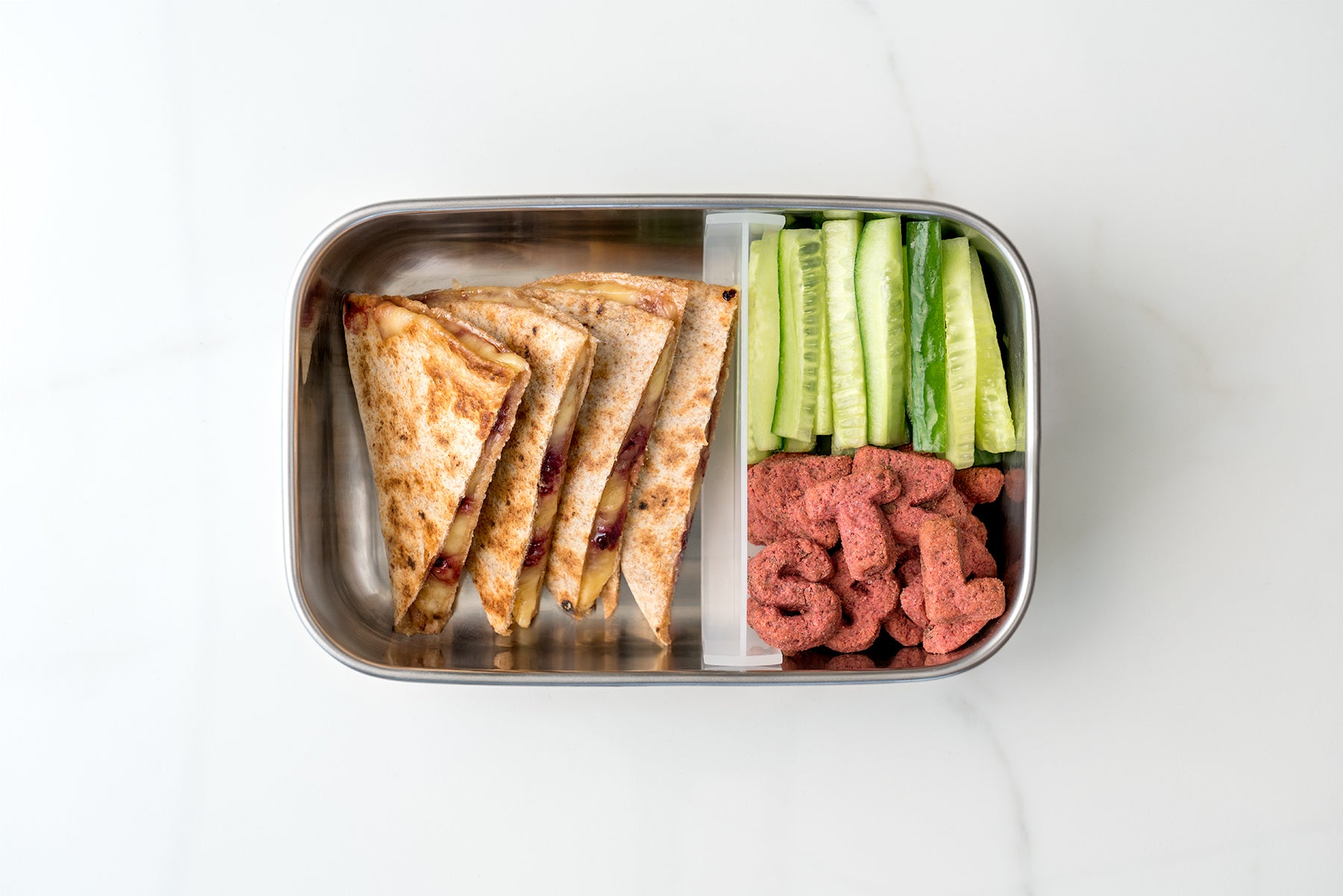 Lunchbox #1 Jammy Quesadilla