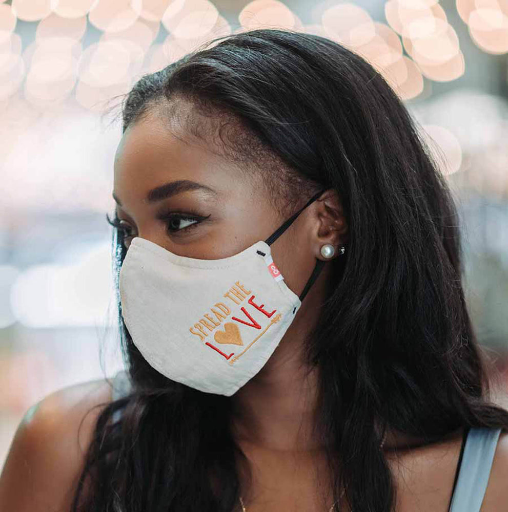 Spread The Love® (Not The Germs) Mask