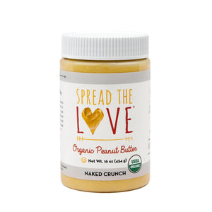 NAKED CRUNCH Organic Peanut Butter