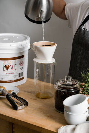 UNSALTED Almond Butter 40-Pound Pail