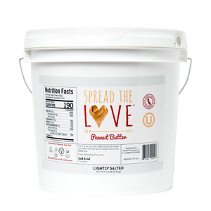 LIGHTLY SALTED Peanut Butter 15-Pound Pail - Wholesale