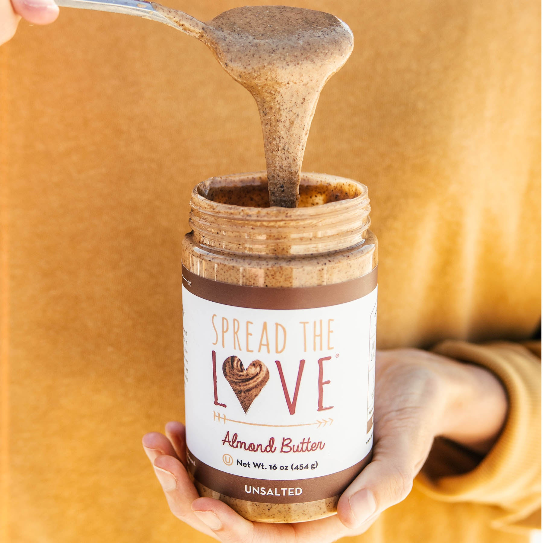 UNSALTED Almond Butter