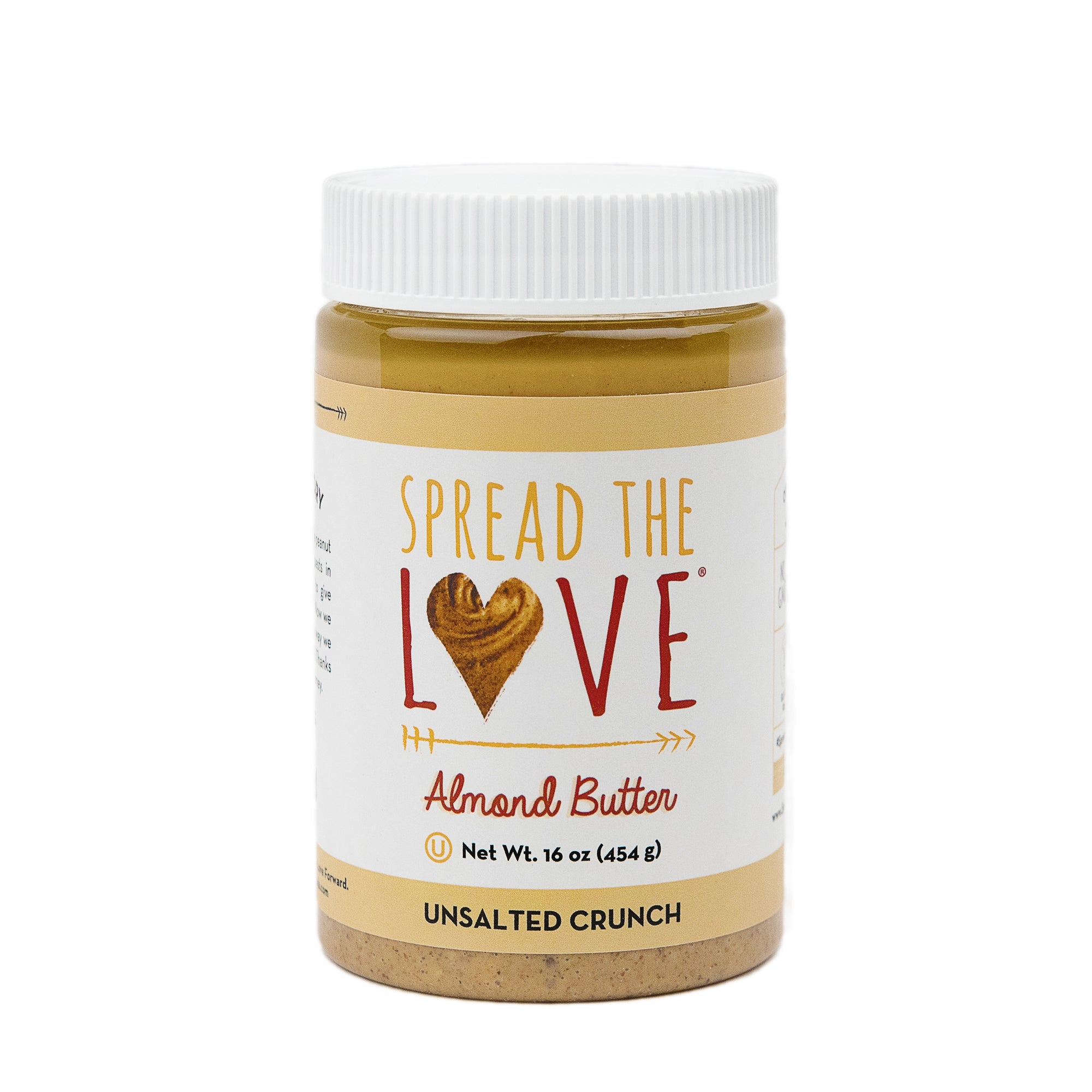 UNSALTED CRUNCH Almond Butter