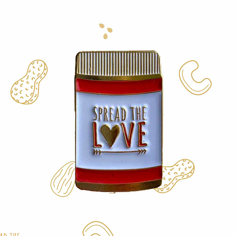 Load image into Gallery viewer, Spread The Love® Enamel Pin