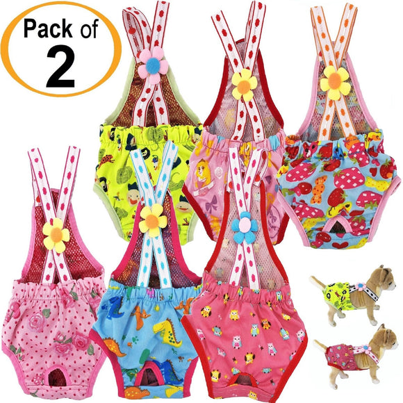 small dog suspender diapers