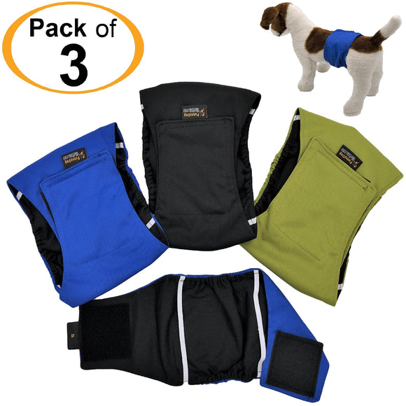 best washable male dog diapers