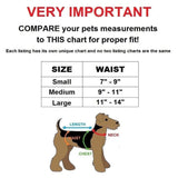 diapers for small dog size chart
