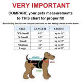 Dog Puppy Cat Clothes Coat Hoodie Jacket Сostume Chip and Dale For SMALL Pet Size Chart- FunnyDogClothes