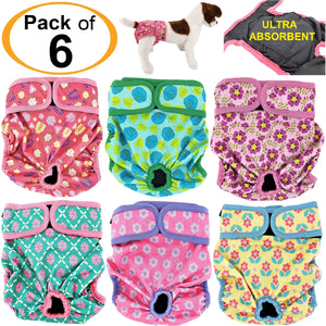 ultra absorbent female dog diapers