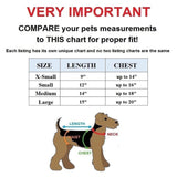 Small Pet Cat Dog Coat Funny Fox Jacket Hooded Costume Fleece Size Chart - FunnyDogClothes