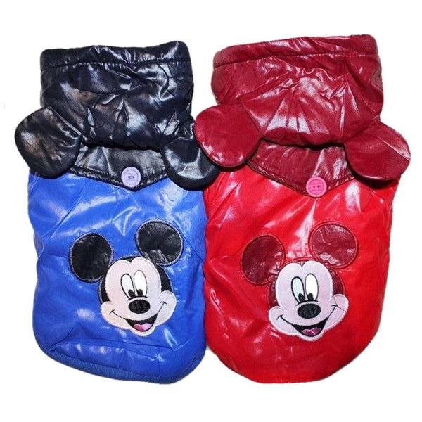 Dog Puppy Clothes Apparel Warm Coat Jacket Hoodie Warm Cartoons For Small Pet - FunnyDogClothes