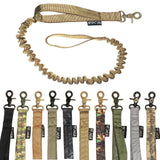 heavy duty tactical bungee leash k9