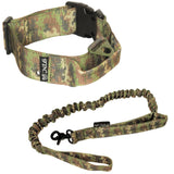 training heavy duty tactical collar and leash