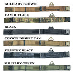Velcro tactical collar with leash military