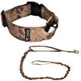 military heavy duty tactical god collar and leash