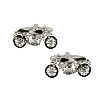 Ideal Gifts For Vintage Motorbike Lovers Classic Motorcycle Cufflinks