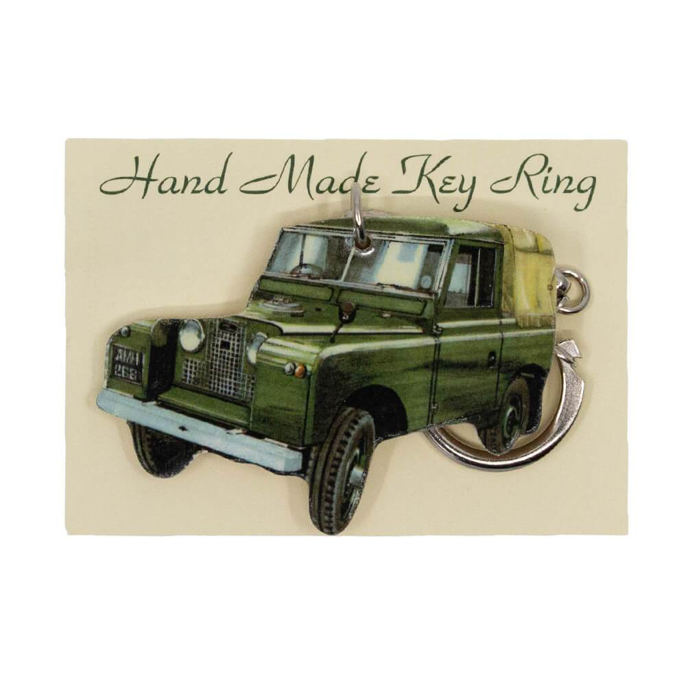 Land Rover Series 2 ii two Keyring in Gifts Packaging