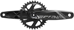 TruVativ Descendant All Downhill Crankset - 165mm, 10/11-Speed, 34t, Direct Mount, DUB Spindle Interface, Black, B1