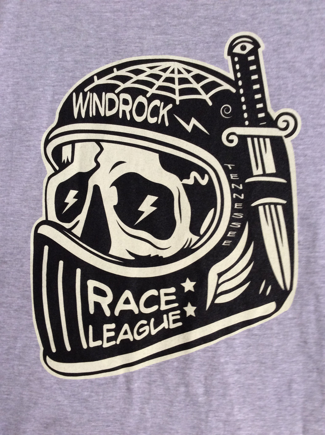 T-Shirt - Race League - Grey