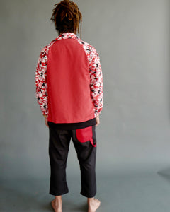 Kung Fu Coach Jacket (Red)