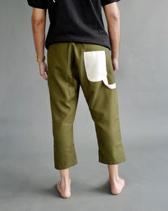 Drop Crotch Carpenter Pants