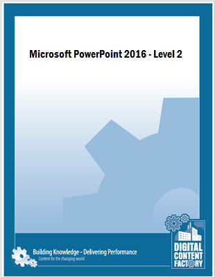 PowerPoint 2016 Level 2 Course