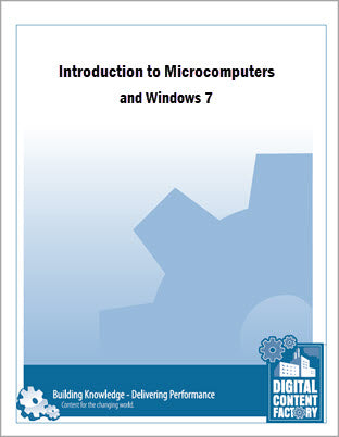 Introduction to Microcomputers and Windows 7 (1-day)