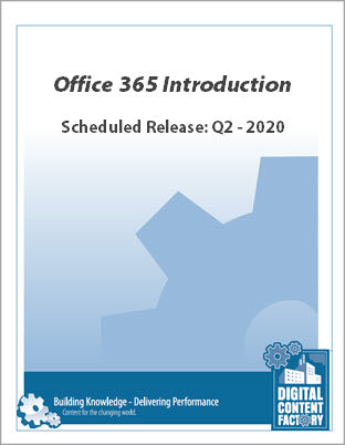 Office 365 Introduction (1 Day)