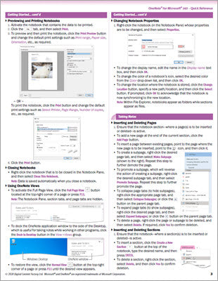 OneNote for Microsoft 365 - Quick Reference