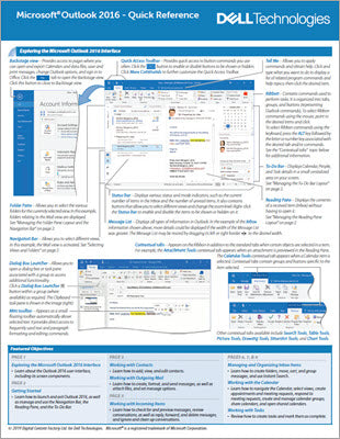 Outlook 2016 - Quick Reference