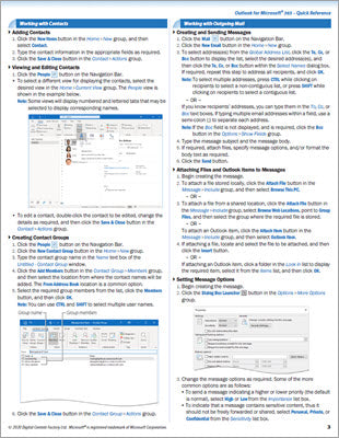 Outlook for Microsoft 365 - Quick Reference