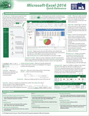 Excel 2016 Guide