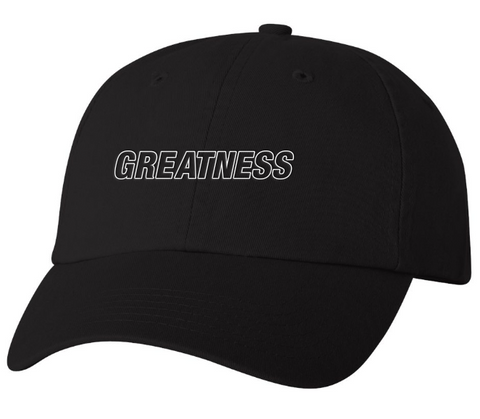 Greatness Dad Hat - Black
