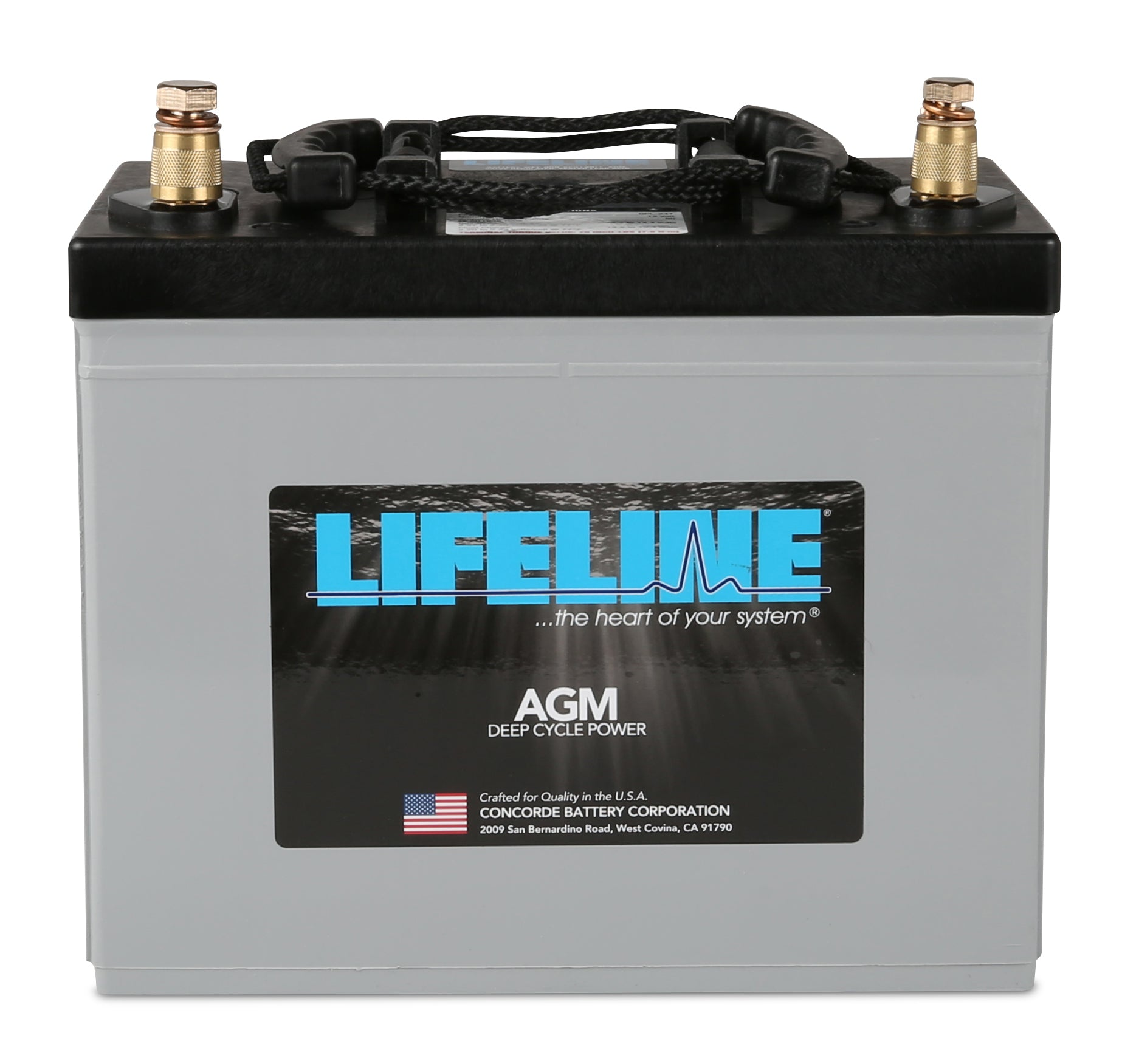 Lifeline Group Size 24 12v 80ah