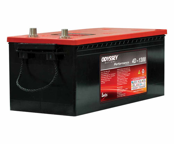 Odyssey 4D-1300 Battery with SAE Terminals