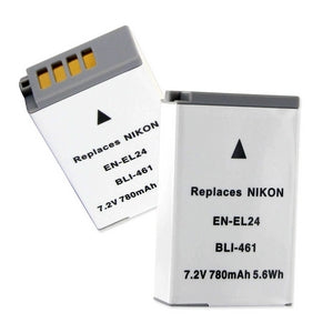 NIKON EN-EL24 7.2V 780MAH LI-ION REPLACEMENT