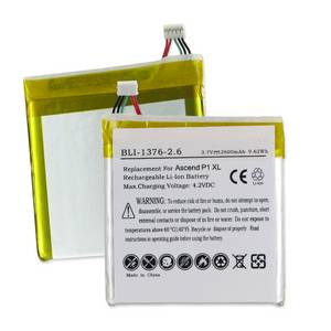 HUAWEI ASCEND P1 XL U9200E 3.7V 2600mAh LI-POL BATTERY
