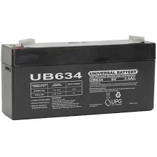 BW 6v 3.4ah Sealed Lead Acid