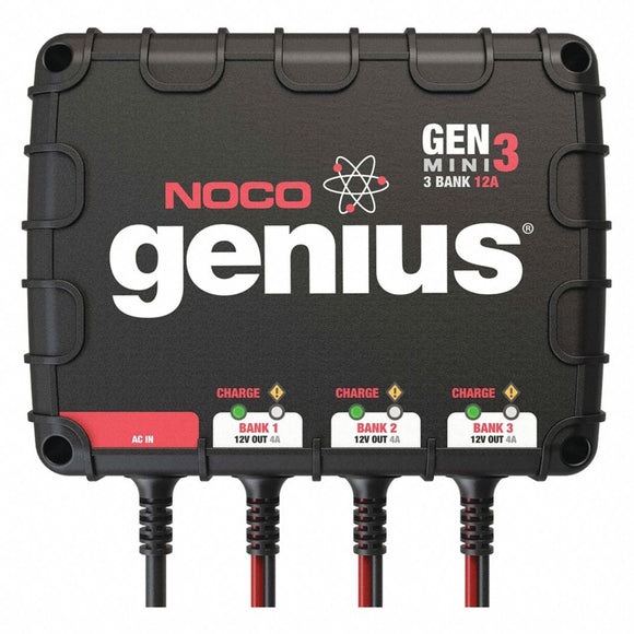 NOCO 30Amp 3-Bank Onboard Battery Charger GEN3