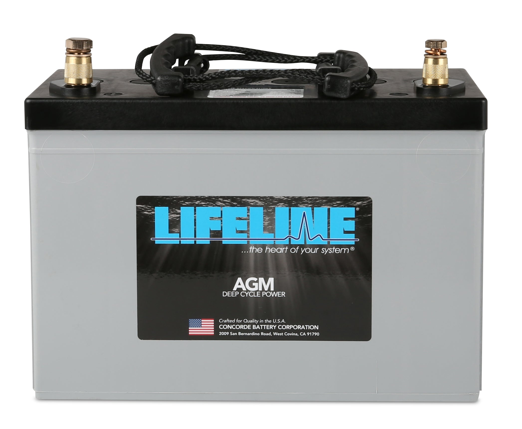 Lifeline Group Size 27 12v 100ah