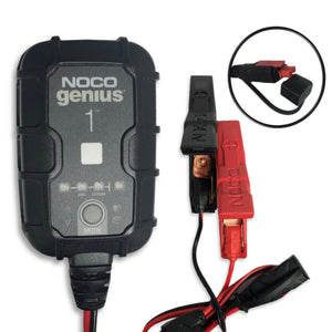 Noco Genius 1  Battery Charger And Maintainer - 1 Amp