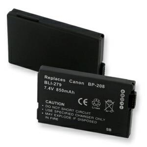 CANON BP-208 LI-ION 850mAh