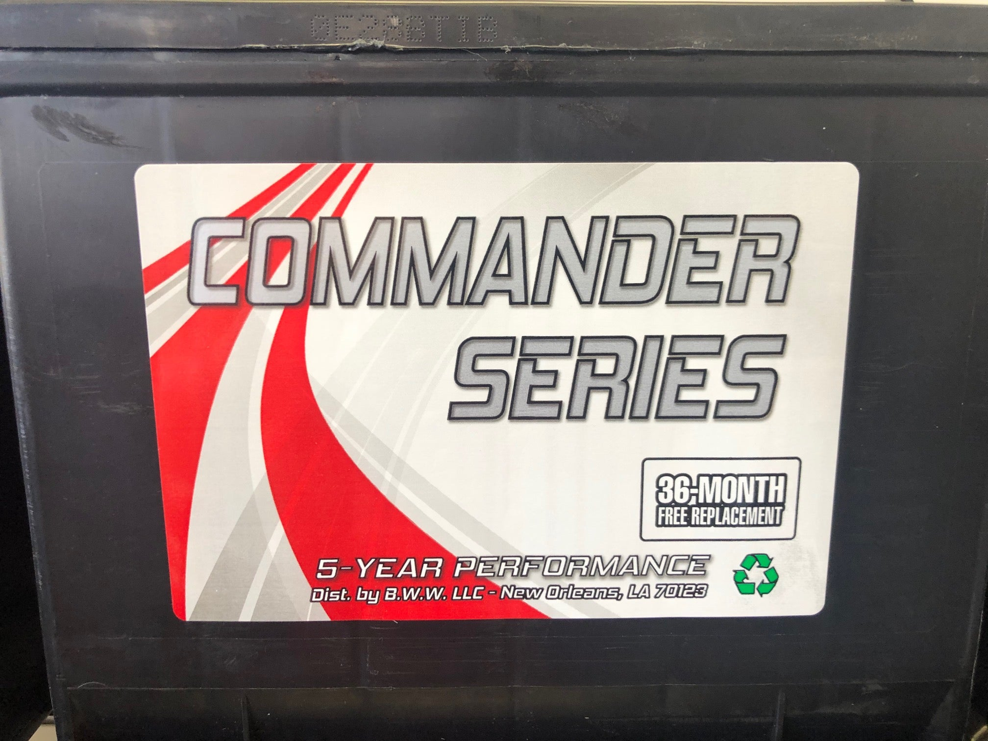 Commander Series Marine Deep Cycle Group Size 24 - 140 Reserve Capacity