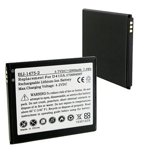 BLU C726004200T 3.7V 2000mAh LI-ION BATTERY
