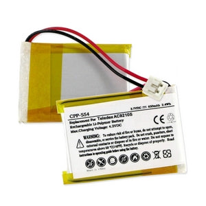 TELEDEX AC9210S 3.7V 650mAh LI-POL BATTERY