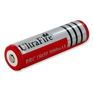 ULTRAFIRE 18650 3.0 RECHARGEABLE PROTECTED BATTERY