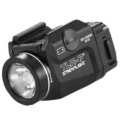Streamlight TLR-7 Rail Mounted Tactical Light, Black - 500 Lumens